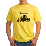 Fashionista Yellow T-Shirt