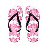 Everyday Pink Ribbon Flip Flops