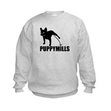 FRENCHIE [pee on] PUPPYMILLS Sweatshirt