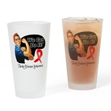 Stroke Awareness We Can Do It Drinking Glass