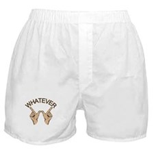 Funny Whatever Attitude Boxer Shorts