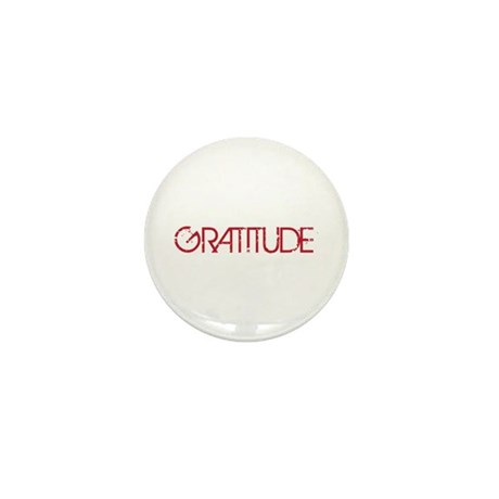Gratitude Mini Button