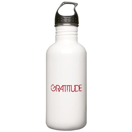 Gratitude Stainless Water Bottle 1.0L