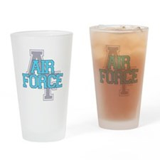 Air Force Varsity Drinking Glass