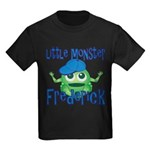 Little Monster Frederick Kids Dark T-Shirt