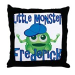 Little Monster Frederick Throw Pillow
