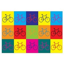Bicycling Pop Art