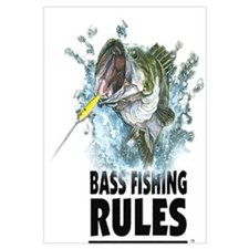 BASS FISHING RULES...STRIKE!