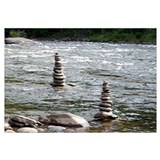 River Cairns Wall Art