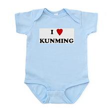 I Love Kunming Infant Creeper