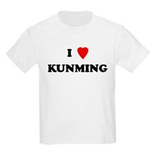 I Love Kunming Kids T-Shirt
