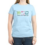 Peace, Love, Finnish Spitz Women's Light T-Shirt