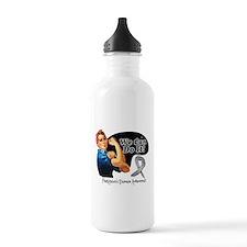 Parkinsons Disease We Can Do It Water Bottle
