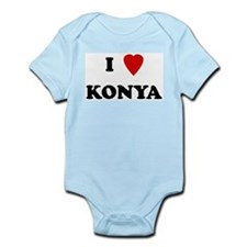 I Love Konya Infant Creeper