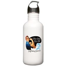 Lymphedema We Can Do It Sports Water Bottle