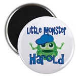 Little Monster Harold Magnet