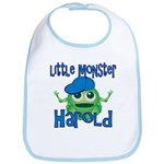 Little Monster Harold Bib