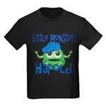 Little Monster Harold Kids Dark T-Shirt