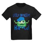 Little Monster Harold Kids Dark T-Shirt