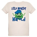 Little Monster Harold Organic Kids T-Shirt