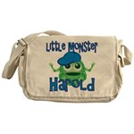 Little Monster Harold Messenger Bag