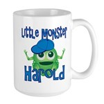 Little Monster Harold Large Mug