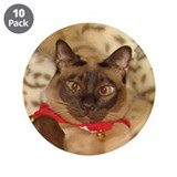 "FPG Xmas Cat III 3.5"" Button (10 pack)"