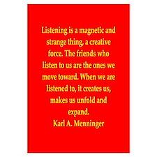 Karl Menninger quote