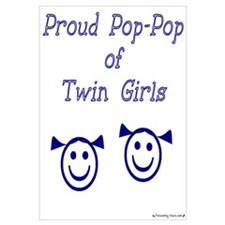 Proud Pop-Pop of Twin Girls