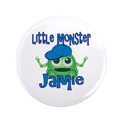 "Little Monster Jamie 3.5"" Button"