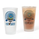 CVN-69 USS Eisenhower Drinking Glass