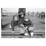 Two Young Football Players, 1925.