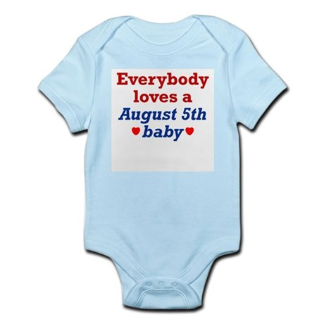 August 5th Infant Creeper