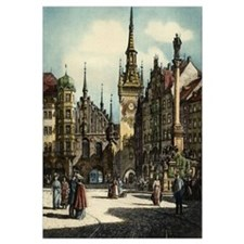 Old Munich Cityscape