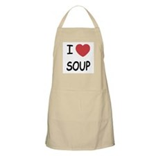 I heart soup Apron