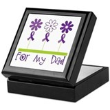 Alzheimers For My Dad Keepsake Box