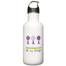 Alzheimers For My Grandpa Water Bottle