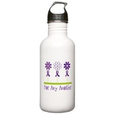 Alzheimers For My Mother Water Bottle
