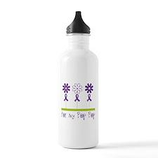Alzheimers For My Pop Pop Water Bottle