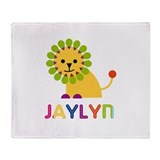 Jaylyn the Lion Throw Blanket