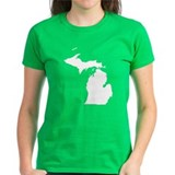 Michigan Map Tee