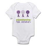 Fight Alzheimers Infant Bodysuit
