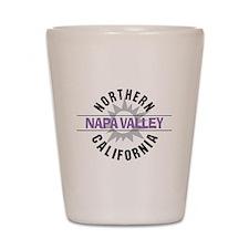 Napa Valley California Shot Glass