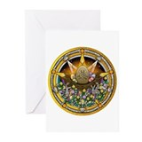 Ostara Pentacle Greeting Cards (Pk of 10)