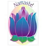 Namaste and Lotus