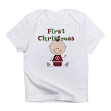Baby Girl First Christmas Infant T-Shirt