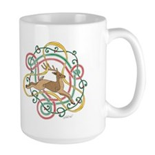 Celtic Reindeer Knots Mug