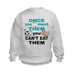 Animal Compassion Kids Sweatshirt
