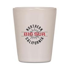 Big Sur California Shot Glass