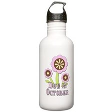 Due in October Expectant Mother Water Bottle